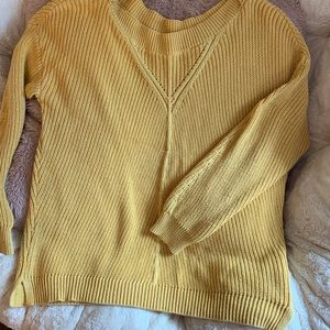 Cozy Yellow Sweater